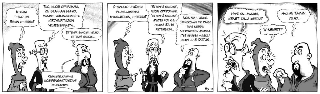 Pahuksen Weljeskunta: Kirjanpitäjä, osa 2