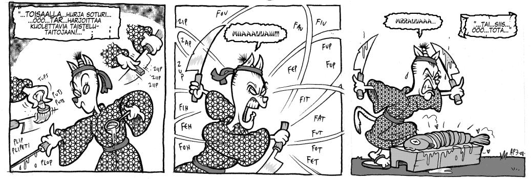 Legenda Dorkoniasta: Veikö kissa syylän kielestäsi, osa 1