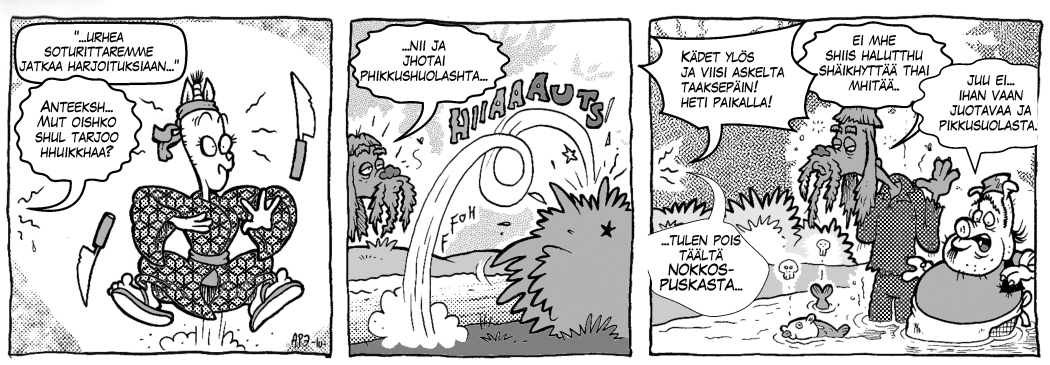 Legenda Dorkoniasta: Veikö kissa syylän kielestäsi, osa 2