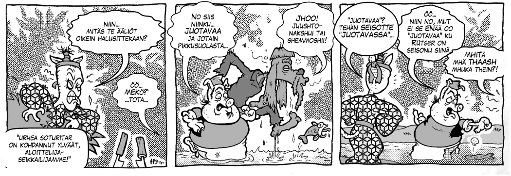 Legenda Dorkoniasta: Veikö kissa syylän kielestäsi, osa 3