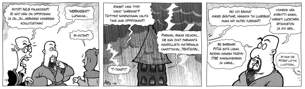 Pahuksen Weljeskunta: Kirjanpitäjä, osa 3