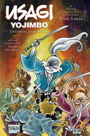 "Usagi Yojimbo, book 30 ""Thieves and Spies"""