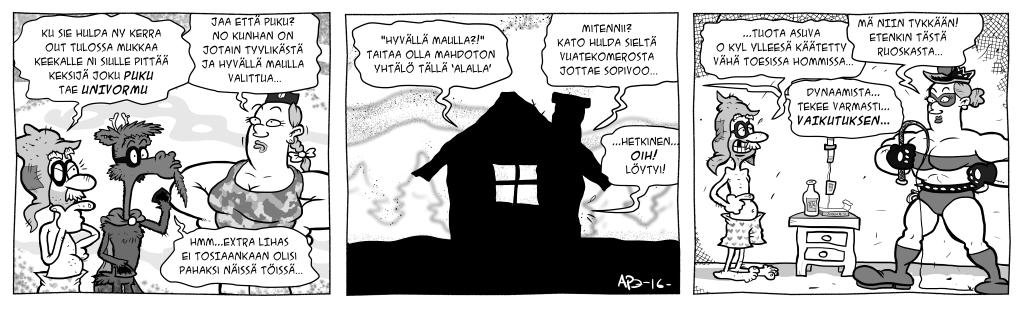 Laplandia>2000: Masa vastaan Kylänormaali, osa 5