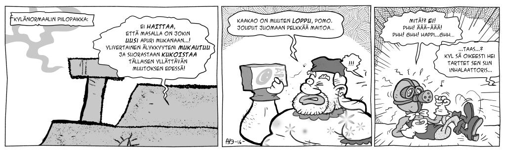 Masa vastaan Kylänormaali, osa 8