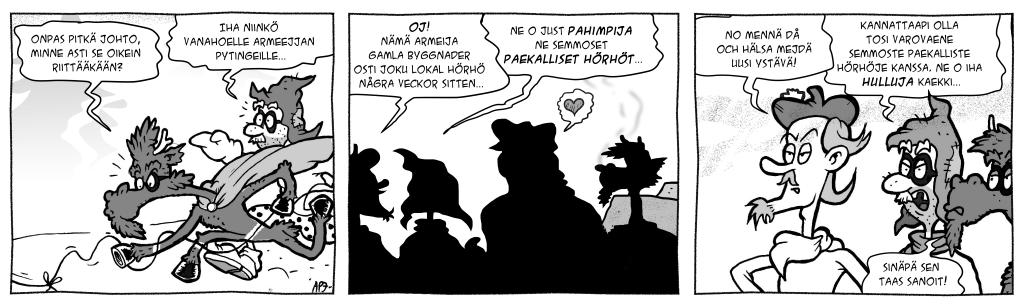 Masa: Masa vastaan Kylänormaali, osa 11