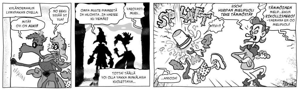 Masa vastaan Kylänormaali, osa 12