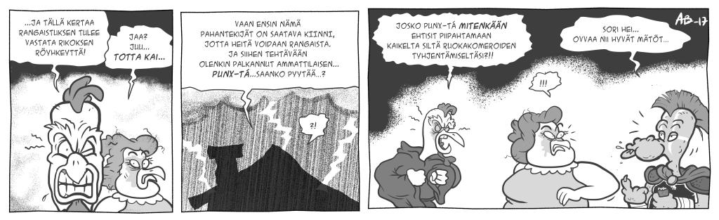 Legenda Dorkoniasta, luku 3: Höyhenenraskas välinäytös